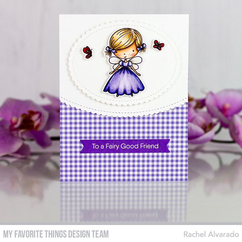To a Fairy Good Friend | MFT Stamps Color Challenge #122
